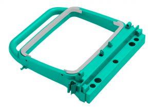 R090725 Portasacco Magic 120 L - Verde - Attacco Femmina