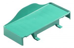 T030360 Piatto Green Reggi-hermetic - Verde
