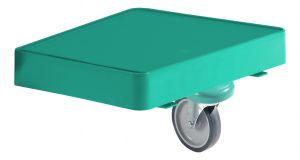 T03037010 Piatto Green Line Reggi-Sacco Con Ruota - Verde -