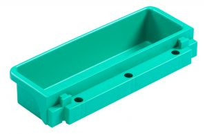 T090735 Vaschetta Magic Portaoggetti - Verde