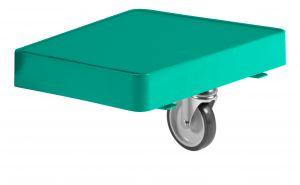T09079500 Piatto Magic Reggi-Sacco Con Ruota - Verde - Ruota