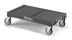 T99070E10 Base Magicart Grande - Antracite - Ruote Ø 125 Mm
