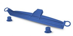 V050200 Set Porta-Coperchio Slim - Blu