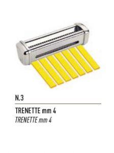 FSE003N - Taglio a TRENETTE  mm4 per Sfogliatrice