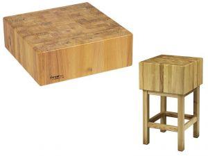 CCL1745 Ceppo legno 17cm con sgabello 45x45x90h