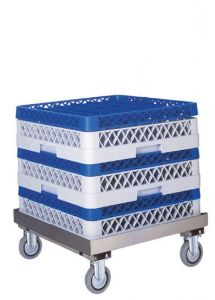 CP1446 Stainless steel dish washer tray trolley base