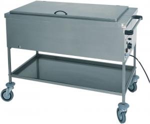 CS1755 Stainless steel thermal bain-marie bottle warmer with lid 117x65x85h