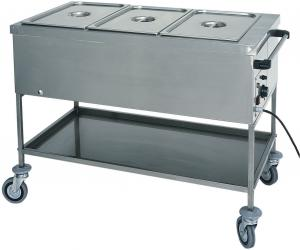 CT1760 Thermal bainmarie trolley GN 3x1/1 117x65x85h