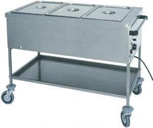 CTS1759 Thermal trolley with dry heating element 2X1/1 GN 84x65x85h