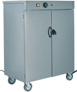 MS1860 Stainless steel Plate warming cabinet Capacity 60 plates - 1 DOOR