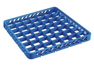 RIA49 Elevation with 49 compartments for dishwasher racks 50x50 h4,5 blue