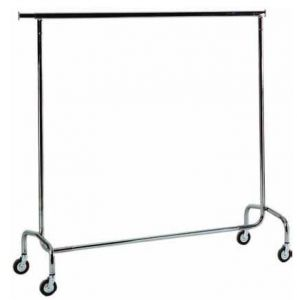 ST4060 Clothing stand on wheels