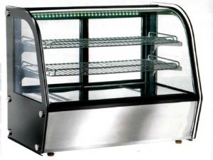 VPH100 Ventilated tabletop heated showcase 71x46x67h