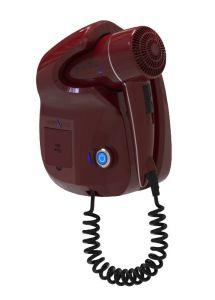 GHIBLI-R Ghibli Evo red hair dryer for hotel use Double USB socket