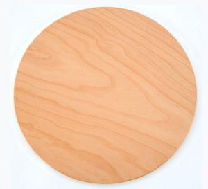 VB40 Vassoio pizza in legno di faggio certificato alimentare Ø40