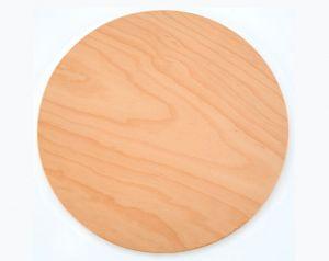 VB50 Vassoio pizza in legno di faggio certificato alimentare Ø50