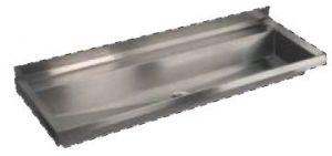 LX1730 Canalone pressopiegato 1250x400x122 mm AISI 304