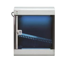 T903024 Sterilizzatore di coltelli a raggi UVC in acciaio inox AISI 304 per 12 coltelli