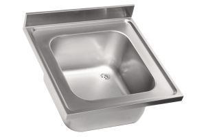 LV6000 Top lavello in acciaio inox AISI 304 dim 600X600 1 vasca 400x400