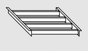 EU91200-04 Griglia per lavapentole in acciaio inox dim. Cm. 34x42