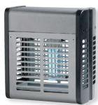 T903011 Sterminatore d'insetti acciaio inox 20 W con griglia elettrica