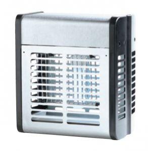 T903012 Sterminatore d'insetti metallo bianco 20 W con griglia elettrica