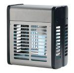 T903013 Sterminatore d'insetti acciaio inox 40 W con griglia elettrica
