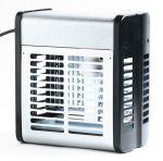 T903014 Sterminatore d'insetti metallo bianco 40 W con griglia elettrica
