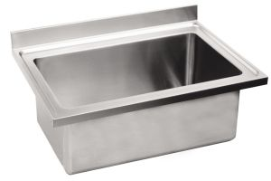 LV7016 Top pot wash sink Aisi304 stainless steel dim.1300X700 single bowl