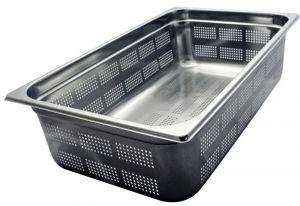 GST1/1P200F Contenitore Gastronorm 1/1 h200 forato in acciaio inox AISI 304