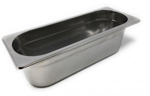 GST2/8P150 Contenitore Gastronorm 2/8 h150 in acciaio inox AISI 304
