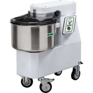 18SNM Spiral kneader 18 kg cicle dough 22 liters tank - Single phase