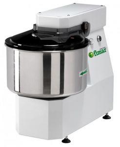 20LNT Spiral kneader LIGHT 16 kg cicle dough 20 liters tank - Three Phase