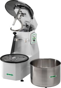 25CNST Spiral kneader Liftable head 25 kg cicle dough 32 liters removable tank - Three Phase