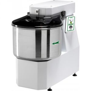 25SNM Spiral kneader 25 kg cicle dough 32 liters tank - Single phase