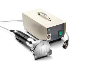ACCOLGYR80HM Coltello elettrico professionale per kebab con trasformatore e regolazione potenza