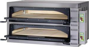 FMDW66T Forno elettrico pizza digitale 18kW doppia camera 108x72x14h cm - Trifase