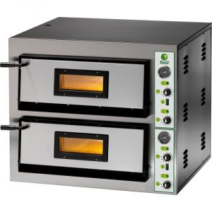 FME99 Electric pizza oven 19.2 kW double room 91x91x14h