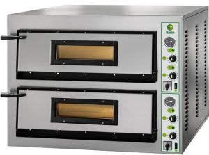 FMLW66M Electric pizza oven 18 kW double room 108x72x14h cm - Single phase
