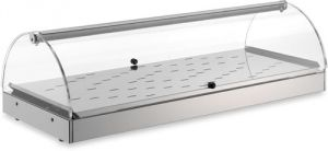 VET7015 - Vetrinetta riscaldata - 1 piano dim. 80X35X25