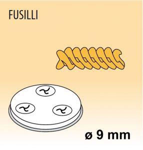 MPFTFU25 Trafila FUSILLI per macchina per pasta fresca