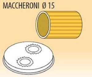 MPFTMA15-15 Trafila MACCHERONI Ø 15 per macchina per pasta fresca