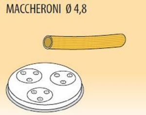 MPFTMA4-8  Brass bronze alloy nozzles MACCHERONI Ø 4,8 for pasta machine