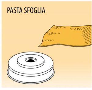 MPFTPF25 Brass bronze alloy nozzles PASTA SFOGLIA for pasta machine