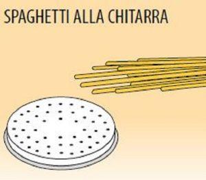 MPFTSPC25 Trafila SPAGHETTI CHITARRA para máquina para pasta fresca