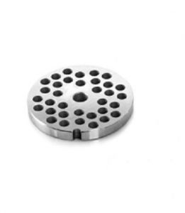 PE22T3 Piastra enterprise in acciaio inox fori 3-3,5 mm per tritacarne Fimar serie 22