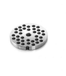 PU323 Piastra unger in acciaio inox fori 3-3,5-4 mm per tritacarne Fimar 32