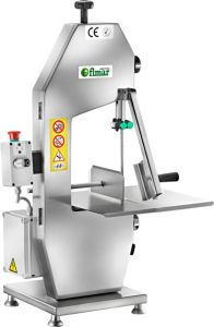 SE1830AT Electric band saw bent aluminum Anodized blade 1830mm - Three-phase