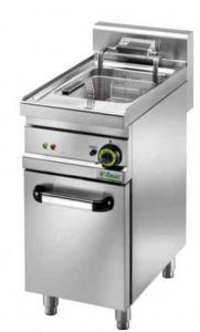 SFM18 Electric fryer 18 liters basin on cabinet 11,5 kW three-phase big capacity