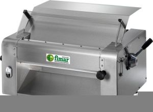 SI420M Pizza and pasta Electric rolling machine pair of rollers 420 mm - Single phase
